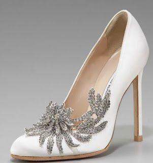 Manolo Bridal pumps