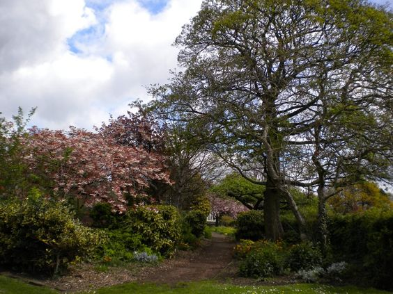 Sudley House's garden, Liverpool