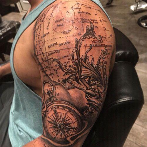 101 Best Shoulder Tattoos For Men Cool Designs Ideas 2020