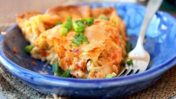 Buffalo Chicken Pot Pie Recipe