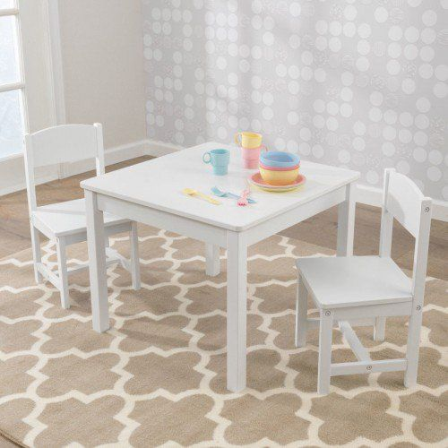Aspen Table 2 Chair Set White Kids Table And Chairs Kids Table Chair Set Table And Chairs Kidkraft table and chairs white