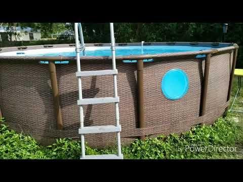 How To Repair Window Leak In Coleman Swim Vista Ii 18ft Pool Youtube Coleman Pool Swimming Pool Repair Pool Repair