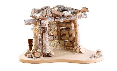 krippe aus sten weihnachten pinterest basteln und hobbys. Black Bedroom Furniture Sets. Home Design Ideas
