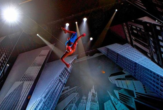 Spider-Man soars over stage on Broadway, but problems with computerized cables were R. Joshua Kobak's downfall, the stuntman-actor says in court papers. Click through to read more.