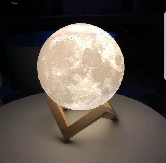 3d Moon Lamp Modern Lighting Night Light Free Shipping Limited Stock Remaining Only Sold At Cozydecorshop Com Lun In 2020 Night Light Lamp Moon Light Lamp Lamp