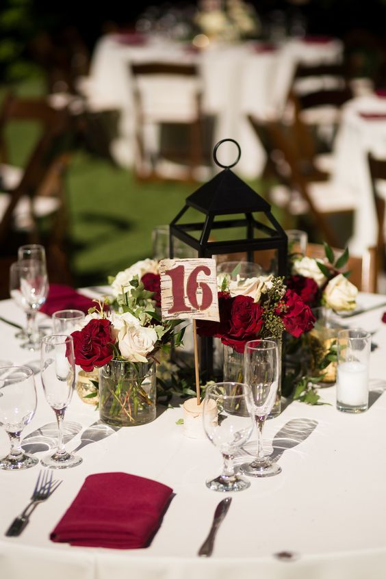 20 Burgundy Wedding Centerpieces Burgundy Wedding Centerpieces Wedding Centerpieces Diy Flower Centerpieces Wedding