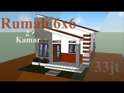 Desain Rumah Minimalis Sederhana 6x6 2 Kamar Tidur Zidan Desain Youtube Tata Letak Rumah Desain Rumah Minimalis Rumah Minimalis