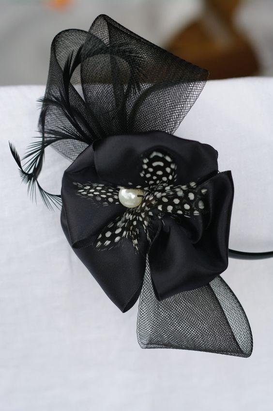 Black Hair Band Hat Thanks to Jax & Hatz http://jaxhatz.com/