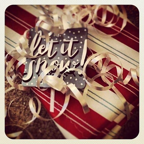 """I love wrapping Christmas presents!! #tistheseason #"""