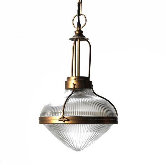 Ribbed Glass Pendant Light From Dock On Train Station Heavy Thick Glass Urban Glass Pendant Light Pendant Light Pendant Light Fixtures