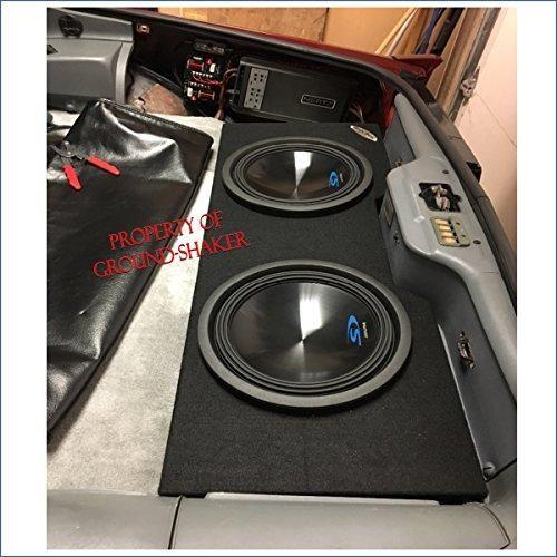 """Custom Chevy Camaro 82-92 Coupe Dual 12/"""" Car Subwoofer Box Speaker Sub Enclosure"""