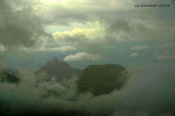 Island temples in a sea of clouds at Grand Canyon http://geogypsytraveler.com/wp-content/uploads/2013/08/19-Temple-islands-in-clouds-NR-GRCA-NP-AZ-1024x678.jpg