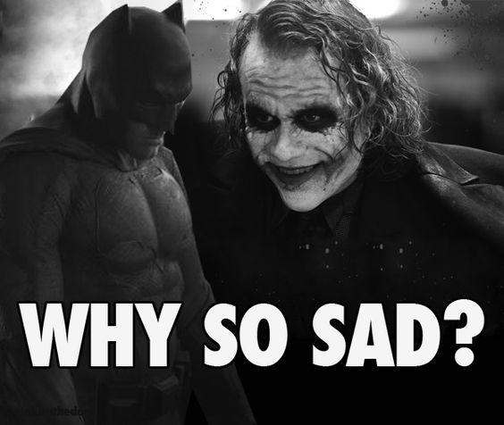 Джокер и грустный Бен Аффлек