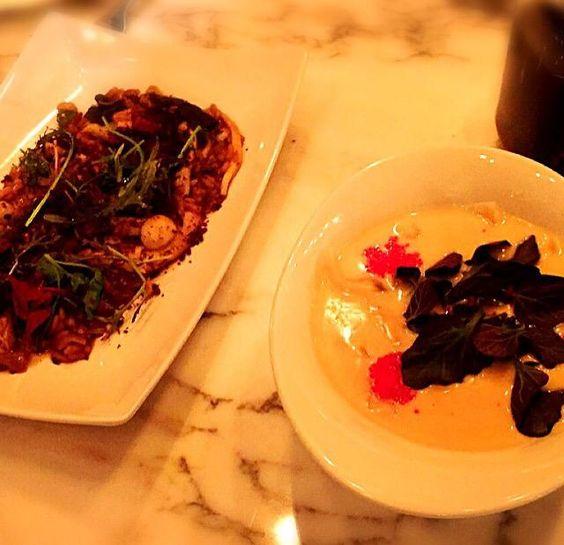 レシピとお料理がひらめくSnapDish - 9件のもぐもぐ - Wild mushroom risotto and scallop dumplings by erisa