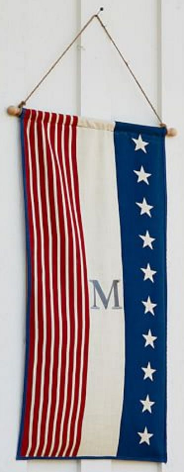 Americana Personalized Flag/Banner