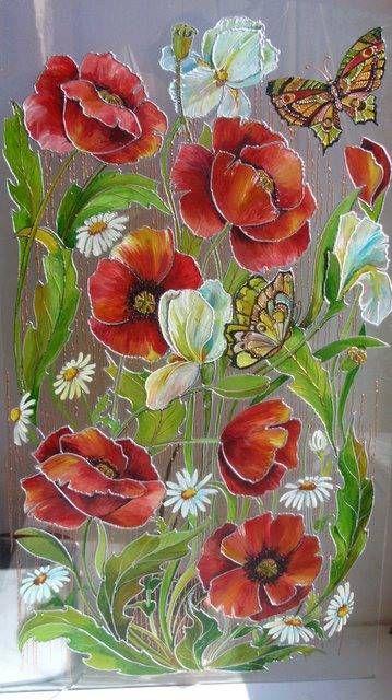 #роспись #зеркало  www.studiagolubeva.com: