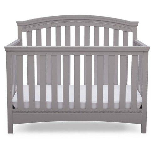 Delta Children Emerson 4 In 1 Convertible Crib Delta Children Convertible Crib Convertible Crib Grey
