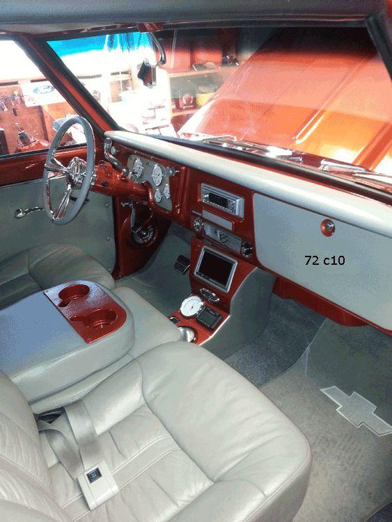 1972 C10 Truck Interior Classic Chevy C10 Trucks