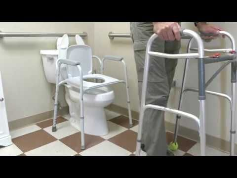 Using The Toilet Properly After Posterior Total Hip Replacement