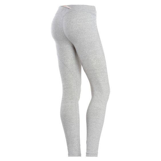 WR.UP® SHAPING EFFECT Low Waist - 7/8 Leggings - Light Melange Grey