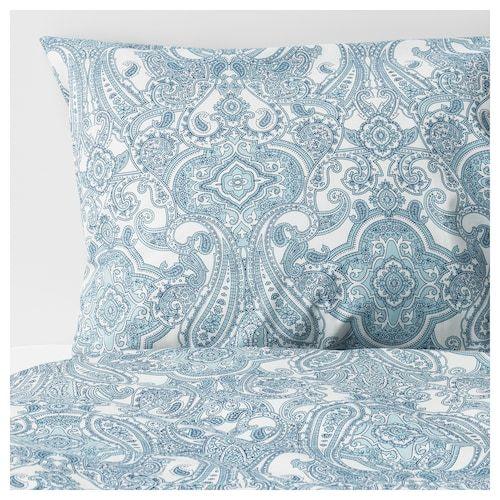 Ikea Alvine Kvist White Gray Duvet Cover And Pillowcase S Housse De Couette Draps De Luxe Et Jeux De Housse De Couette
