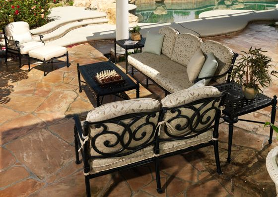 Riviera Deep Seating Furniture Gensun Casual Outdoor Kitchens Beautifully Crafted Cast