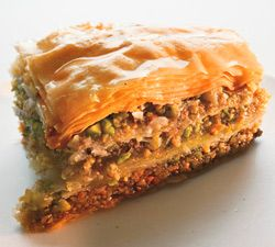 Walnut & Pistachio Baklava_This is a great recipe that puts a spin on ...