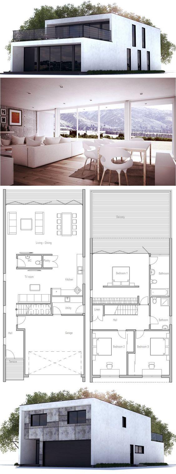 Plan maison moderne maison minimaliste conteneurs maison ch167 maison cube plan petite maison etage maisons étroites villeta maison container