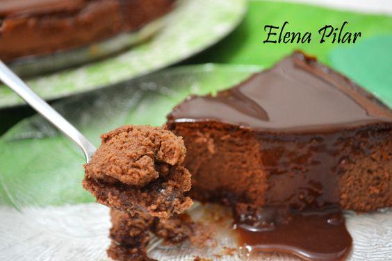 Mi Recetario por Elena Pilar: Cheesecake de Nutella