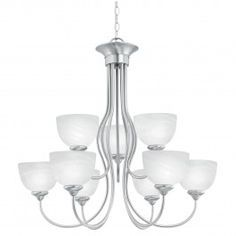 brushed nickle dining room light fixtures hanging | ... Lighting. The Elipse Collection Brushed Nickel (Group 4). Dining Room