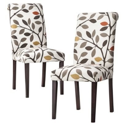 Accent Dining Chair Avington Print Threshold Chairs