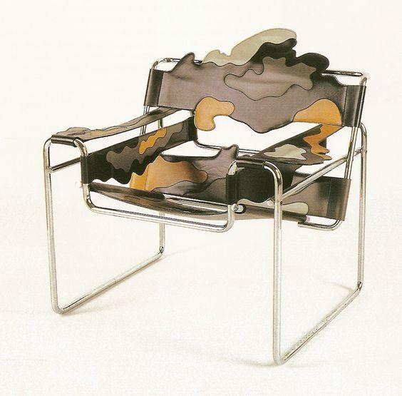 Re design du fauteuil wassily alessandro mendini pour studio alchimia 1978 - L histoire du fauteuil ...