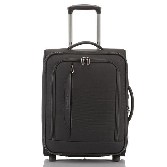 #Handgepäck travelite CrossLITE bei Koffermarkt: ✓2 Rollen ✓leichtes  Weichgepäck  ✓erweiterbar  ✓Farbe: schwarz