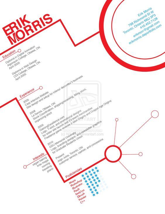 Prototype Resume by N3-496.deviantart.com on @deviantART | Résumés ...