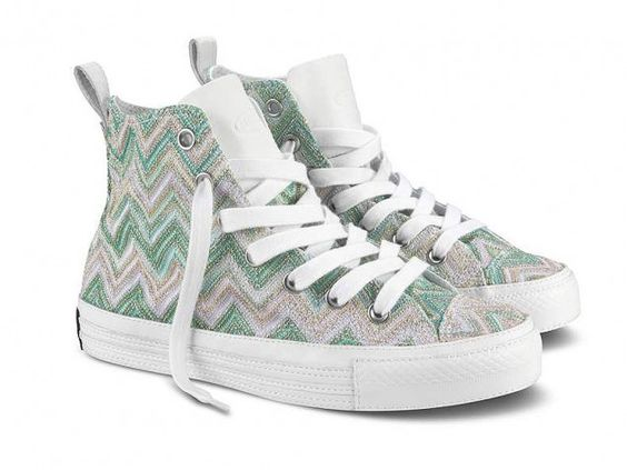 Missoni for Converse Chuck Taylor summertime sneakers..cool!