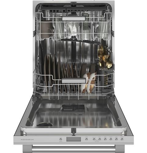 Zdt985spnss Monogram Smart Fully Integrated Dishwasher Monogram Appliances Steel Tub Built In Dishwasher Integrated Dishwasher