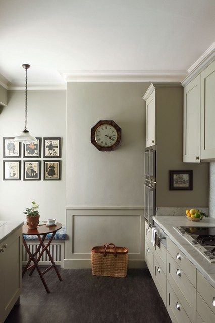 Modern Country Style: Georgian kitchen in Hardwick White