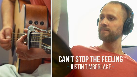 Justin Timberlake - Can't Stop The Feeling (Rock Cover) | Jake Weber
