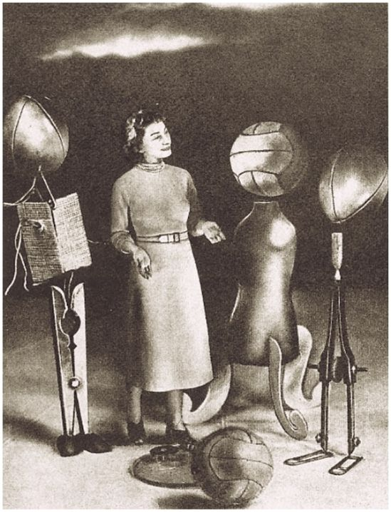 """Grete Stern, Los sueños de proyección"""". Idilio Nº 81 6-6-1950"""