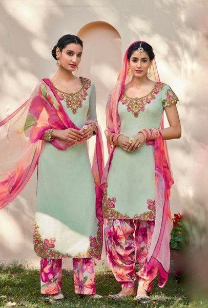 Summer Shalwar Kameez Designs pink outfit