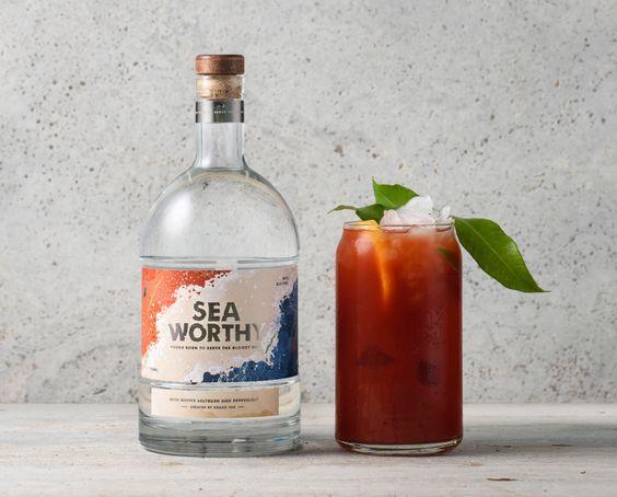 Seaworthy Vodka — The Dieline - Branding & Packaging