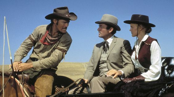 Chuck Connors, Gregory Peck, & Caroll Baker : The Big Country