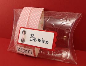 My Craft Spot: Make your own clear boxes and pillow boxes!