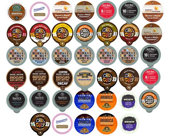 Traditional Best Coffee Single Serve Cups For Keurig K cups Variety Pack Sampler,40-count, ,