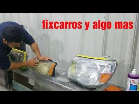 Youtube Limpieza De Faros Limpieza Auto Trucos