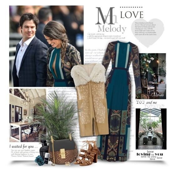 """""""Love Melody"""" by thewondersoffashion ❤ liked on Polyvore featuring Etro, Prabal Gurung, Valentino, Chloé, Aquazzura, Christian Dior and Jennifer Fisher"""