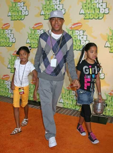 Celebrity Families at Nickelodeons 22nd Annual Kids Choice Awards