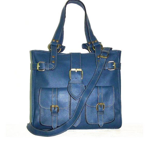 Leather Bag Handbag Shoulder Crossbody Purse Orea M by chicleather