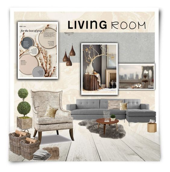 Living room love by yummymummystyle liked on polyvore Better homes and gardens living room ideas