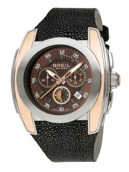 Breil Men's Milano Mediterraneo Black & Brown Watch